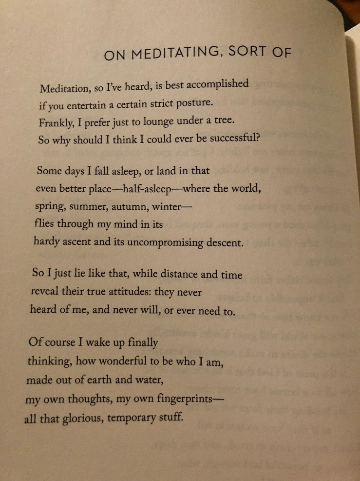 Poem by Mary Oliver